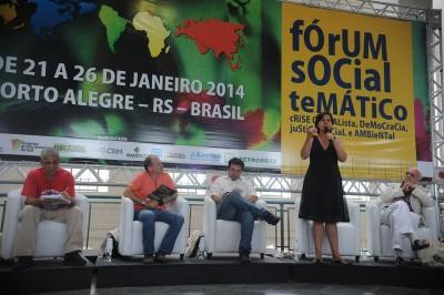 Ministra Tereza Campello participou do Fórum Social Temático