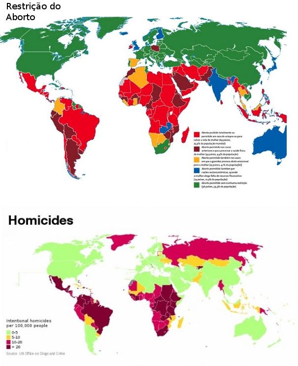 A impressionante semelhança entre aborto e redução de homicídios