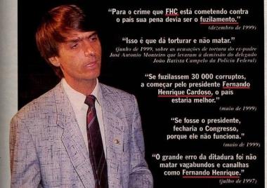 facebook de meu professor de história - Jair Bolsonaro