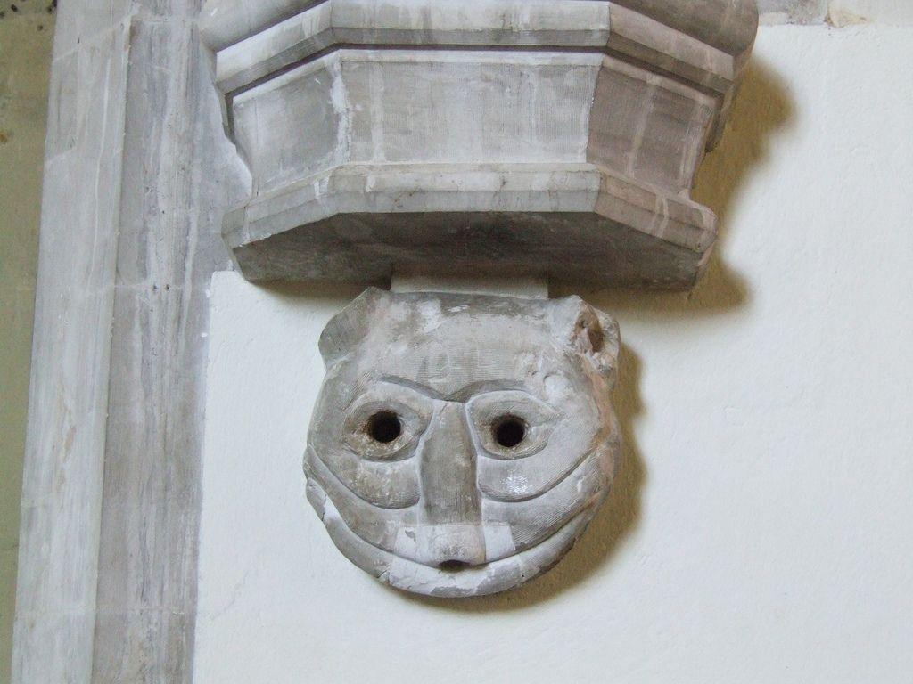 Gárgola en St Nicholas Parish Church