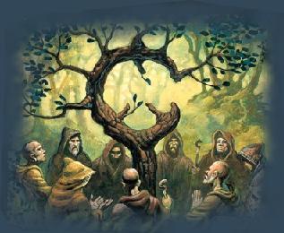 Reunión de druidas