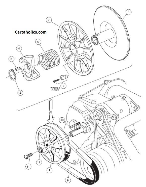 yamaha g9 golf cart clutch diagram  wiring diagram load
