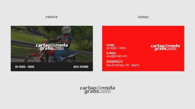 download modelo de cartão de visita moto táxi vetor