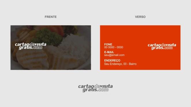 download modelo de cartão de visita quentinha vetor