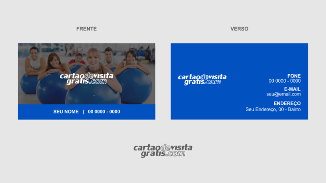 download modelo de cartão de visita pilates vetor