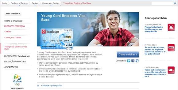 cartao-young-card-bradesco-buxx