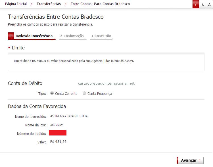 Depositar NETELLER Pelo Bradesco 6