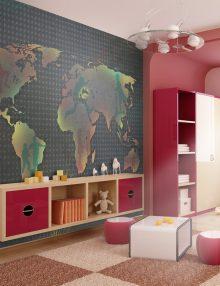 Le idee più belle per il soggiorno. Carta Da Parati Bambini Carte Parati Per Camerette Uniche