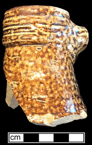 Rhenish Brown - Photo courtesy of Maryland Archaeological Conservation Laboratory