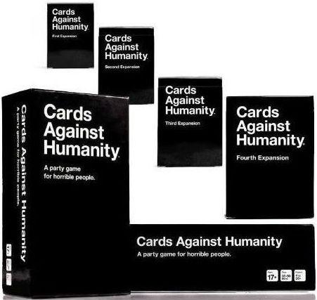 Juego de Mesa: Cartas contra la Humanidad y Extensiones 1,2,3,4 y 5