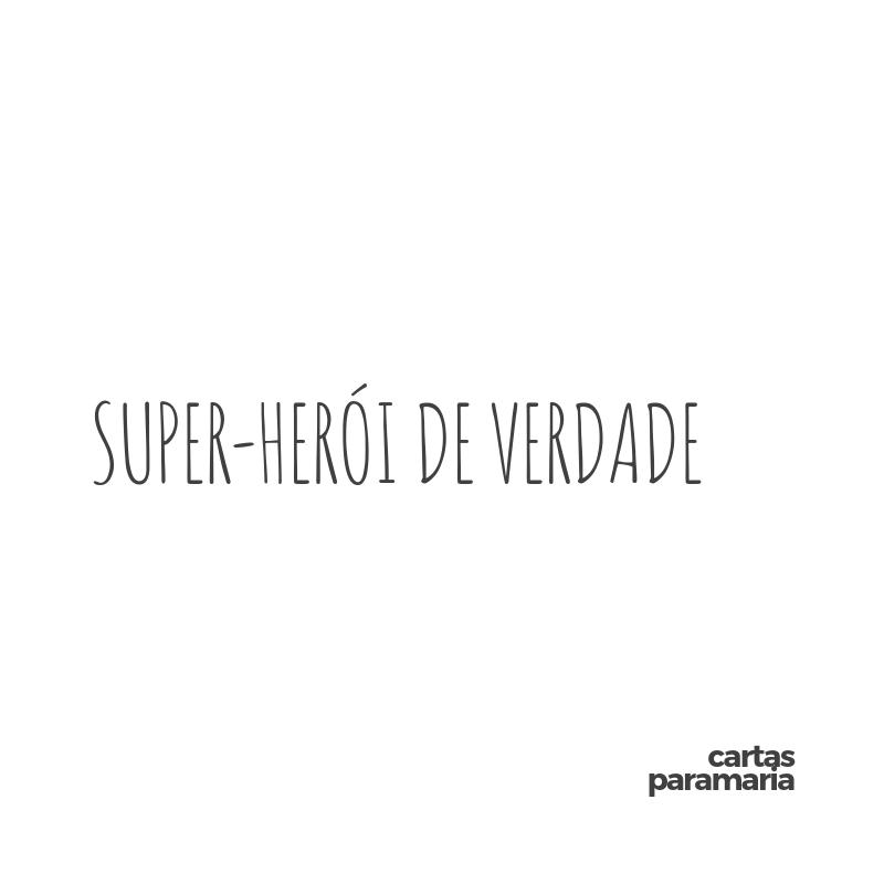 super-herói de verdade | Allan Dias Castro