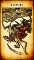 La Muerte invertida Tarot