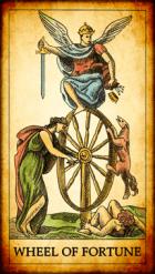 La Rueda de la Fortuna Tarot