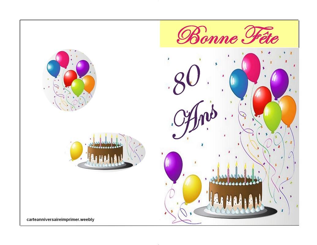 cartes anniversaire imprimer gratuite