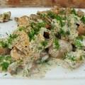 ciulama cu ciuperci de padure