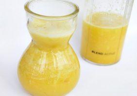smoothie cu citrice si ghimbir
