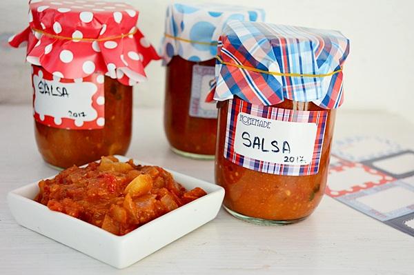 Sos salsa pentru iarna