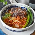 Varza cu coaste afumate la slow cooker Crock Pot
