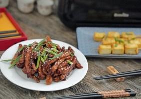 Porc cu 5 arome chinezesti la Breville Air Fryer