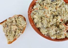 Salata de vinete cu ciuperci