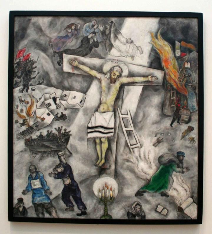 Marc Chagall - la crocifissione bianca