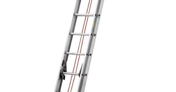 escalera de extesion 3.96 mts III 150 Kg ROJA CUPRUM