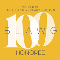 100 Blawg Honoree