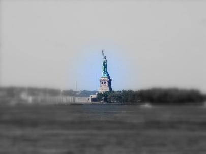 The New Colossus   Liberty Across the Harbor