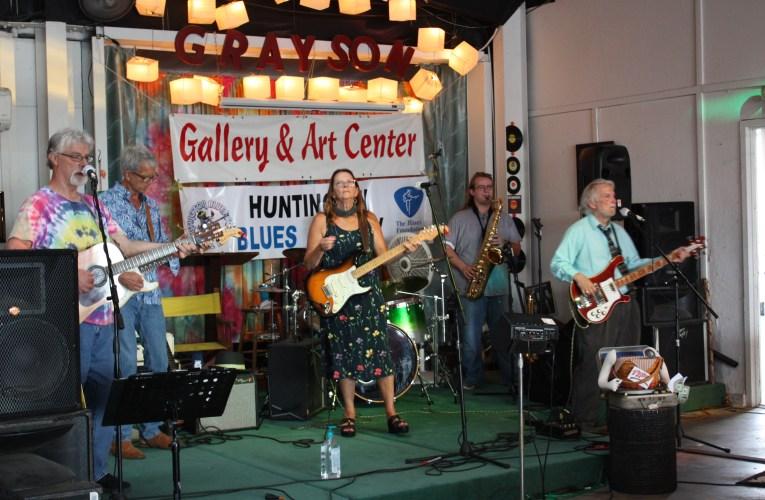 Huntington Blues Society at the Grayson Gallery & Art Center