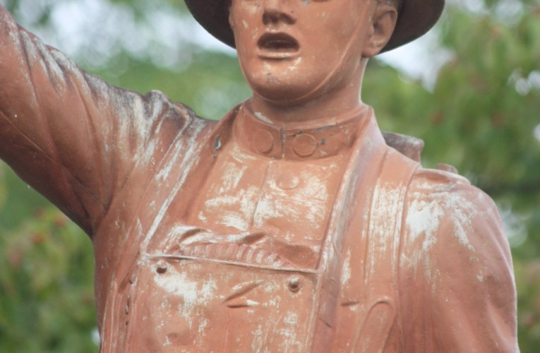 Preserving the past: Malone discusses doughboy statue