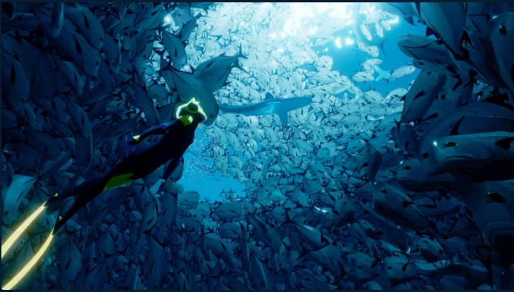 Late to the Games: Undersea Exploration with Abzu