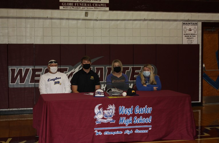 West Carter's Trevor Callahan signs with Morehead State University