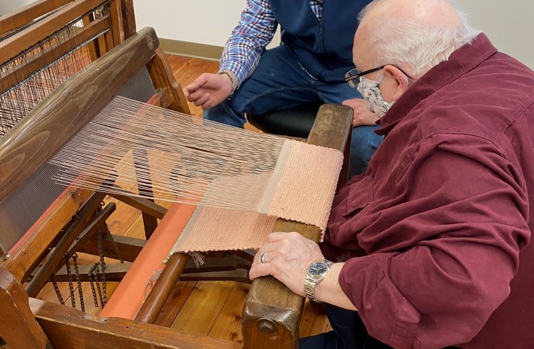 Weaving a better life: Carter County man hopes to preserve textile tradition