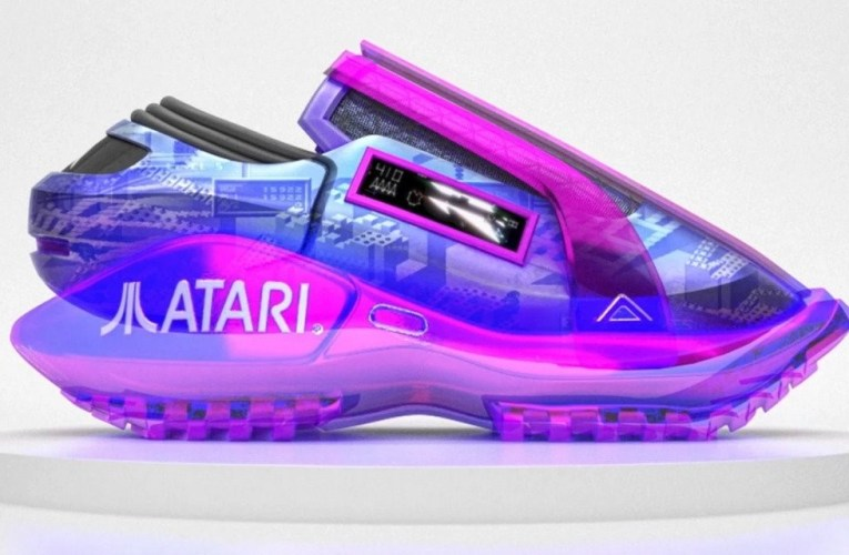 Late to the Game(s): Why is Atari selling digital sneakers?