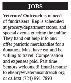 Hiring – Veterans' Outreach
