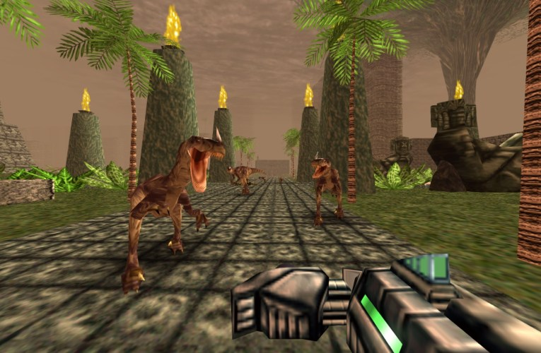 Late to the Game(s): Turok and me