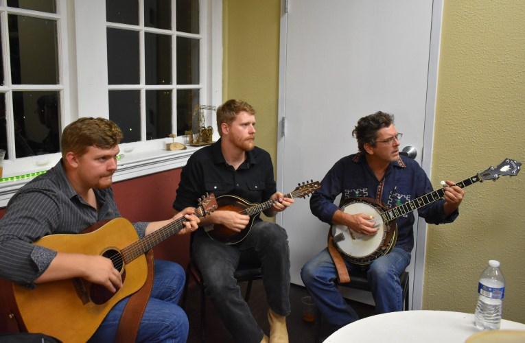 Singing songs and telling tall tales: Front Porch Pickin' & Poetry is new monthly event at Depot