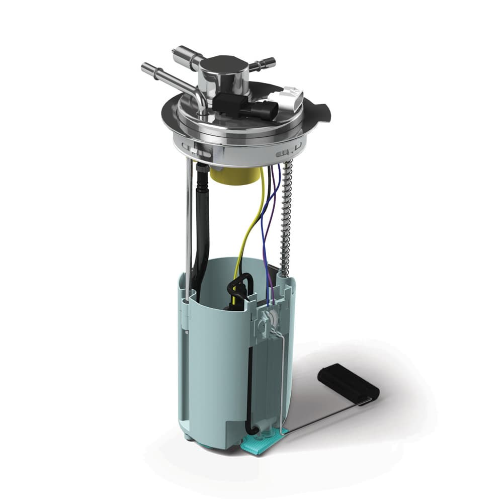 hight resolution of fuel pump assemblies