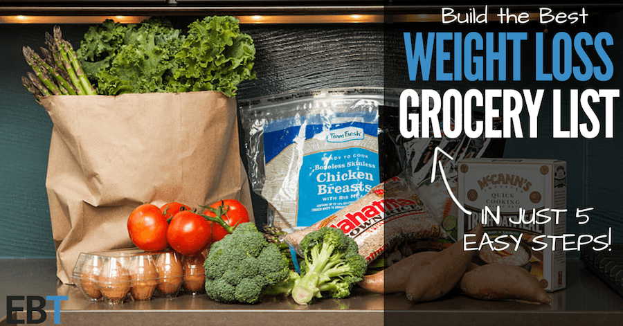 weight loss grocery list