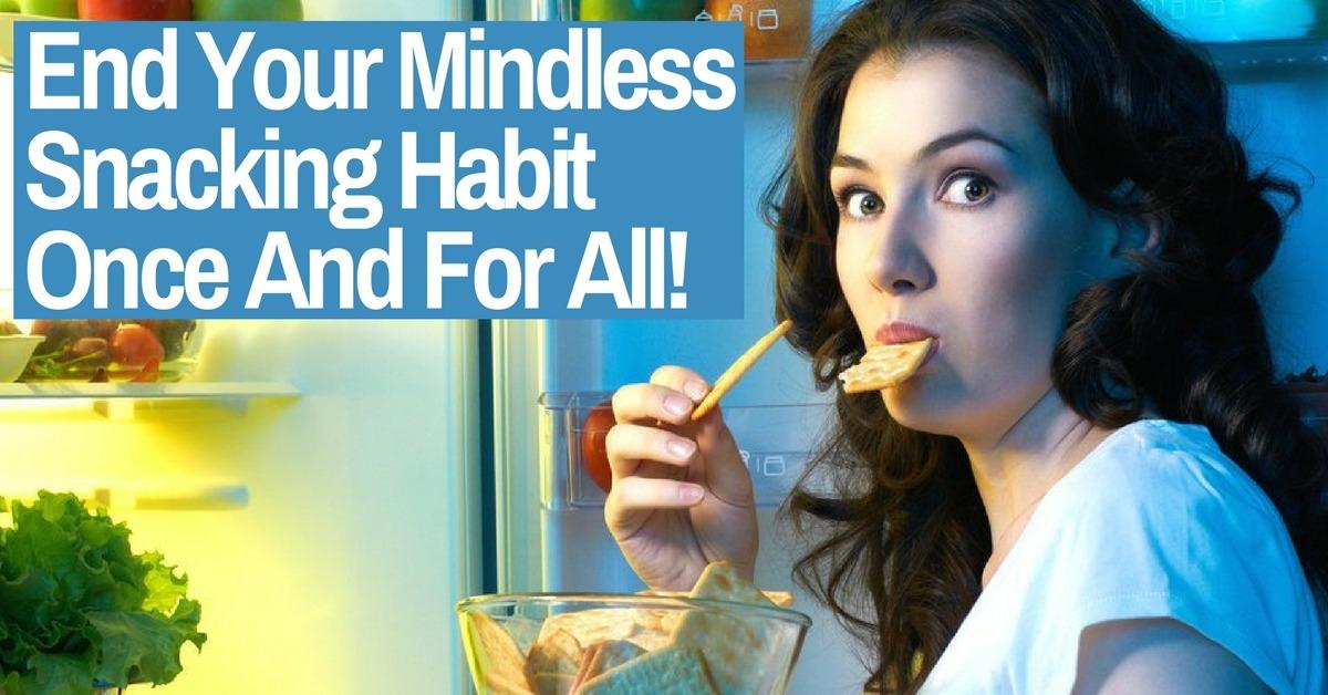 mindless snacking