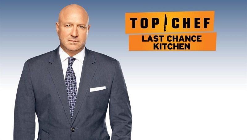 Top Chef Last Chance Kitchen finale Carl Dooley Amar Santana fight to reenter competition