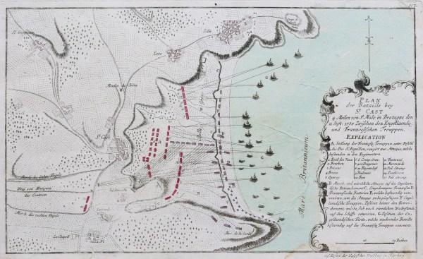 Carte marine de Saint Cast le Guildo