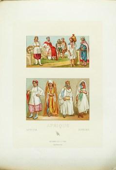 Costumes Afrique du Nord