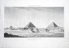 Vue générale des Pyramides