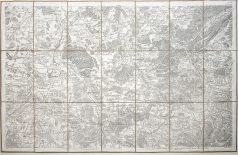 Antique map - Cassini de Thury - Epinal - Mirecourt