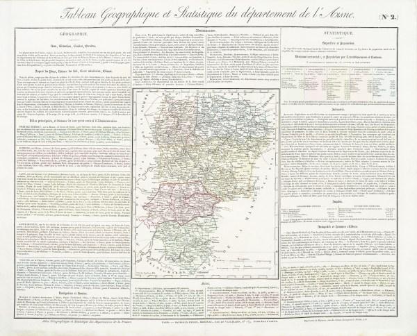 Carte originale de l'Aisne