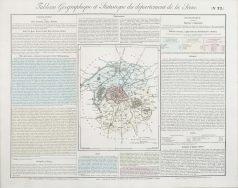 Carte originale de la Seine