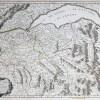 Carte ancienne - Partie Septentrionale des Estats de Savoie