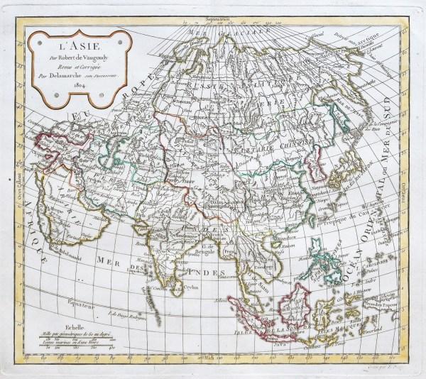 Original antique map - Îles de la Sonde & Philippines
