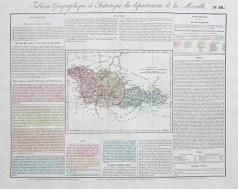 Carte originale de la Moselle